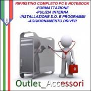 Formattazione Pc Desktop Notebook Netbook e installazione Sistema Operativo e Programmi Base