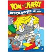 Tom si Jerry - Distractie pentru tot anul - Jocuri activitati si pagini de colorat
