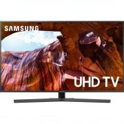 Televizor LED Samsung 65RU7402, 163 cm, 4K Ultra HD, PQI 1900, Dolby Digital Plus (20W), Procesor Quad-core, Smart TV, Wi-Fi, Bluetooth de energie scazuta, CI+, Clasa energetica A+, Gri titan