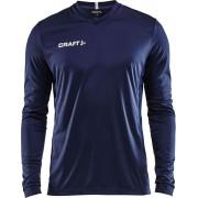 Craft Squad Jersey Solid LS Shirt Heren Sportshirt - Maat M - Mannen - blauw/wit