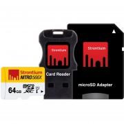 Strontium Nitro MicroSD 3in1 Card (SRN64GTFU1C)