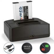 Batterie + Double Chargeur (USB) pour DMW-BCM13 / Panasonic Lumix DMC-FT5, LZ40, TS5, TS6 / DMC-TZ37, TZ40, TZ41, TZ55, TZ56, TZ58, TZ60, TZ61, TZ70, TZ71 / DMC-ZS30, ZS35, ZS40, ZS45, ZS50, ZS60, ZS100