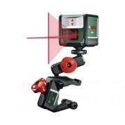 Nivela cu laser Bosch Quigo III, linii in cruce, incl. suport de fixare
