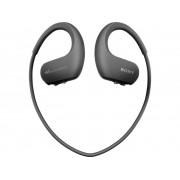 Sony NW-WS413B Sport Oordopjes In Ear MP3-speler, Oorbeugel, Waterbestendig Zwart
