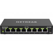Switch Netgear 8 Port Gigabit Ethernet Smart Managed Plus Switch, GS308E-100PES, 8x GbE, 36mj