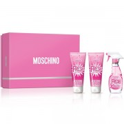 Moschino Fresh Couture Pink 50ml Apă De Toaletă + 100ml Gel de duș + 100ml Loțiune de corp Set