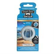 Yankee Candle Turquoise Sky Vent Clips Retail Box