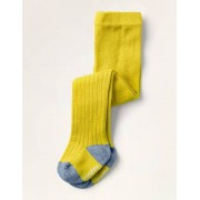 Mini Gelb Rippenstrumpfhose Baby Baby Boden, 92, Yellow