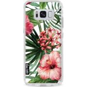 Casetastic Hard Case Samsung Galaxy S8 - Tropical Flowers