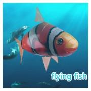 EH Control Remoto RC Flying Nemo Peces Payaso Inflable Dirigible Los Juguetes De Los Niños