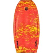 Wave Skater Rabbit Fish Bodyboard (Röd)