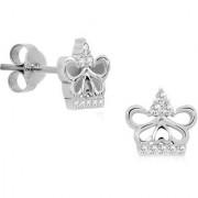 Silver Shine 92.5 Sterling Silver Mini Butterfly Shape Earring For Women Girls