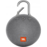 Jblclip3gry Clip 3 - Cassa Bluetooth Altoparlante Wireless Speaker Portatile Impermeabile Ipx7 Potenza 3.3 Watt Usb Colore Grigio - Jblclip3gry