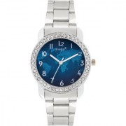 Evelyn Analogue Blue Dial Girls Watches-Eve-649