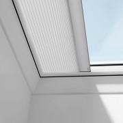 För fjärrstyrda takfönsterkupol Mörkläggningsgardin 12x12, Vit