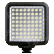 GODOX 1000lm 6500K portatil de 64 LED Luz de video - Negro (4 * AA)