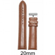 Like 20 Mm Leather Padded Watch Strap (Tan)
