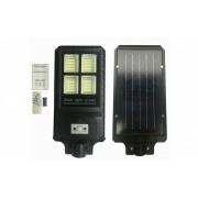 Proiector stradal cu panou solar, senzor de miscare si telecomanda 90W