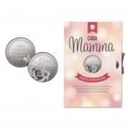 Moneta portafortuna con dedica cara mamma 076003 604