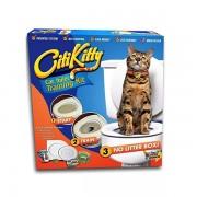 Kit pentru dresarea pisicii la toaleta