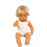 Baby european (baiat) Papusa 38 cm