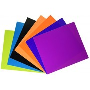 Roylco Double Colored Card Stock, 8' x 9', Assorted Colors, Pack of 100