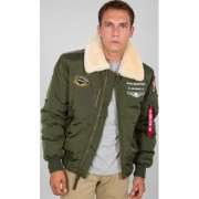 Alpha Industries Injector III Air Force Giacca Verde 3XL