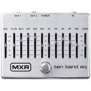 MXR M108S 10 Band Equalizer Silver