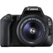 Zrkadlovka Canon EOS 200D BK 18-55