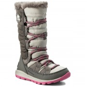 Cizme de zăpadă SOREL - Children's Whitney Lace NC1895 Pink Ice/Quarry 695