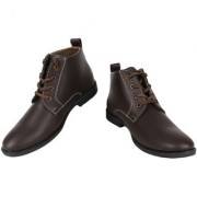 Yellow Tree Good High Quality Brown High Ankle Designer Boot Shoes For Mens Boys ( YT 43164 )
