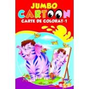 Jumbo Cartoon. Carte de colorat - 1/***