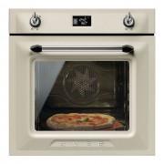 SMEG Horno Multifunción SF6922PPZE1 Limpieza Vapor Clean Crema