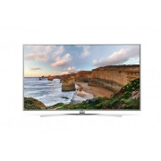"LG 55UH7707, 55"" 4K UltraHD TV, 3840x2160, DVB-T2/C/S2, 2500PMI, Smart, ULTRA Slim, WiDi, WiFi 802.11.ac, Bluetooth, Miracast, DLNA, LAN, CI, HDMI, USB, TV Recording Ready, Harman kardon Tuned Audio, Narrow Bezel, Crescent Stand, Bright Metal/Silver"