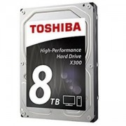 Твърд диск Toshiba X300 High-Performance Hard Drive 8TB (7200rpm/128MB), BULK, HDETT10ZPA51