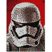 Pixel Art Star Wars Stormtrooper Quercetti