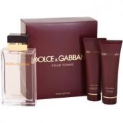 Dolce & Gabbana Pour Femme Travel Edition lote de regalo II. eau de parfum 100 ml + gel de ducha 50 ml + leche corporal 50 ml
