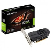 Placa video Gigabyte GeForce GTX 1050 Ti OC Low Profile, 1328 (1442) MHz, 4GB GDDR5, 128-bit, DL-DVI-D, 2x HDMI, DP