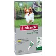 Bayer Advantix Spot on per Cani fino a 4kg (4 pipette)
