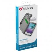 Cellular Line Samsung Bookcase Essential Zwart Vanaf 2016
