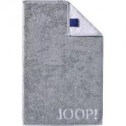 JOOP! Handdoeken Classic Doubleface Gastendoekje zilver 30 x 50 cm 1 Stk.