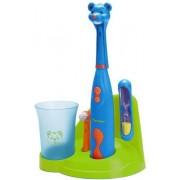 Set Periuta de dinti electrica pentru copii Bestron DSA3500B (Albastru)