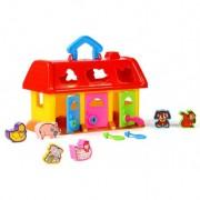 Casuta bebe cu forme sortare Pets House Polesie