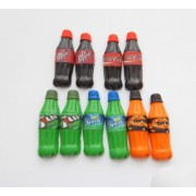 Tango, 7up, Sprite, Coca Cola And Dr Pepper Soda Drink Bottle Stud Earrings