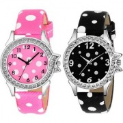 KDS New Fashion Lifestyle Queen Analog Watch Sett Of Two For Girls and Women 139 Watch