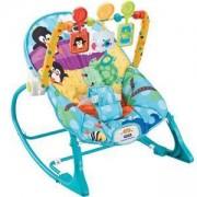 Бебешки шезлонг Baby Jungle - син, Cangaroo, 356072