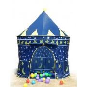 Stan pro děti HRAD modrý