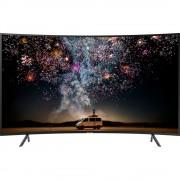 Televizor LED curbat Samsung 49RU7372, 123 cm, 4K Ultra HD, PQI 1500, Dolby Digital Plus, Procesor Quad-core, Smart TV, Wi-Fi, Bluetooth de energie scazuta, CI+, Clasa energetica A, Negru