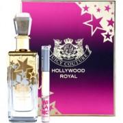 Juicy Couture Hollywood Royal lote de regalo eau de parfum 150 ml + roll-on  2 x 5 ml