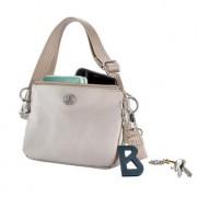 Bogner Verbier Kata, 4-in-1 Damen Tasche, taupe, 17 x 13 x 4,5 cm